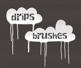 Drips PS Brushes
