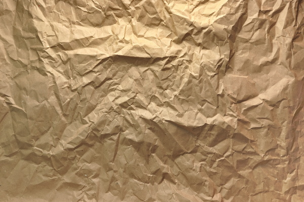 Folded Kraft Paper Texture Background Free Download