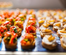 Stock Photo  French variety of appetizers Stock Photo