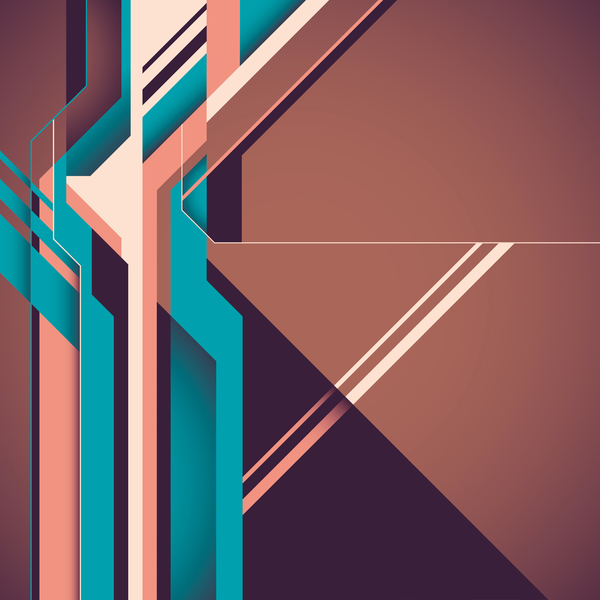Futuristic concept backgrounds vector 04