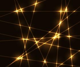 Gold laser vector background 01