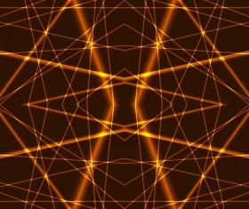 Gold laser vector background 02