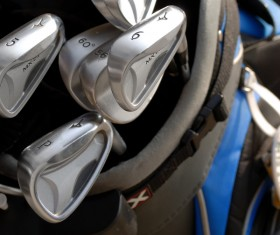 Golf clubs Stock Photo 01