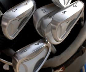 Golf clubs Stock Photo 02