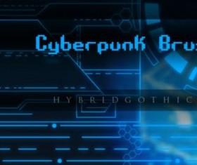HG Cyberpunk Brushes set