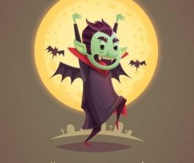 Halloween artoom character funny vector 08