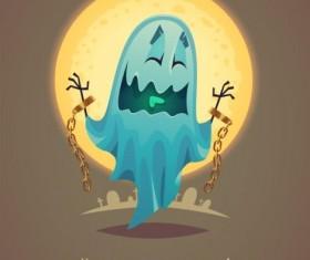 Halloween artoom character funny vector 09