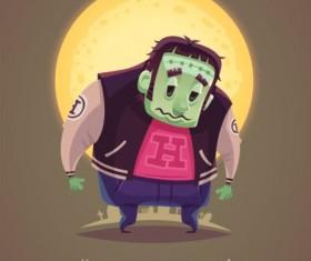 Halloween artoom character funny vector 10