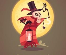 Halloween artoom character funny vector 11