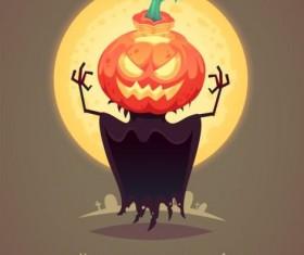 Halloween artoom character funny vector 12