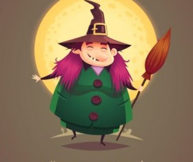 Halloween artoom character funny vector 13