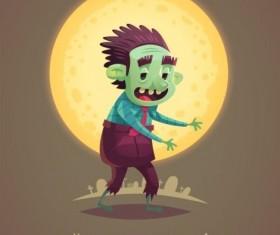 Halloween artoom character funny vector 14