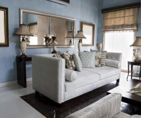 Interior design classic living room Stock Photo