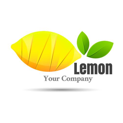 lemon logo design vector vector logo free download