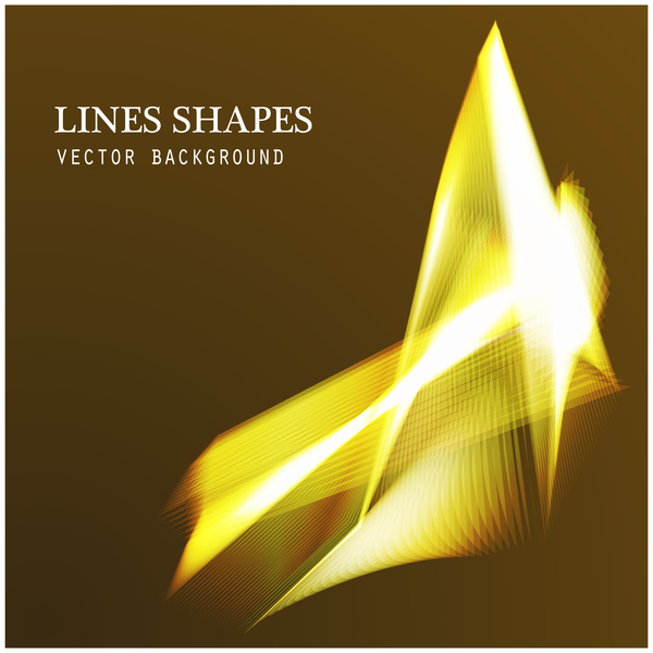 Light lines shapes shiny background vector 05