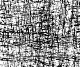 Messy lines textured pattern vectors 02