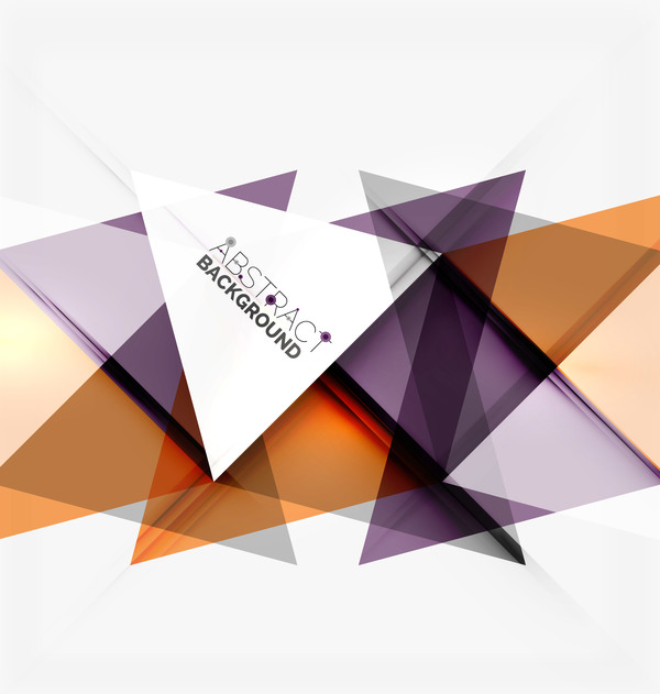 Modern elements abstract background vector 02