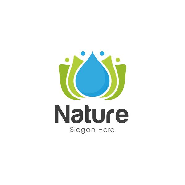 Nature logo design vectors 02