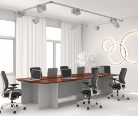 Office HD picture in white 03