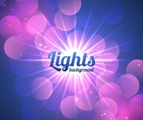 Purple light shining backgrounds vector