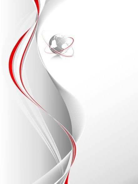 Red pinstripe with abstract background vectors 08