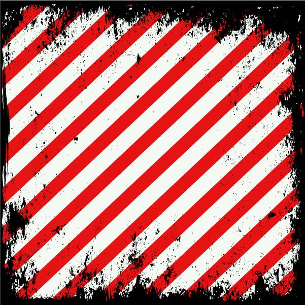 Red with white grunge background vector