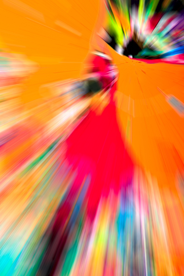 Red yellow Abstract background