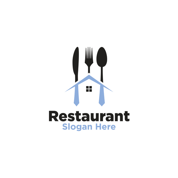 Restaurant logos creative design vector 01