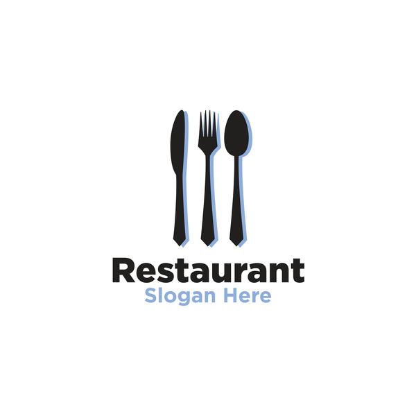 Restaurant logos creative design vector 03