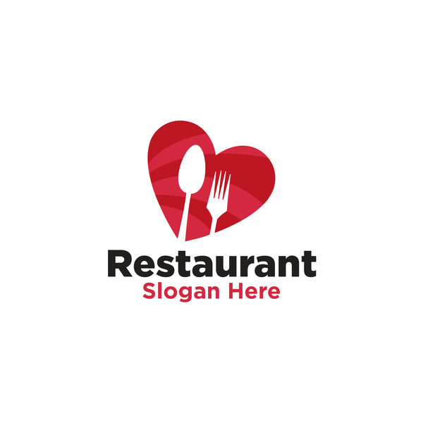 Restaurant logos creative design vector free download