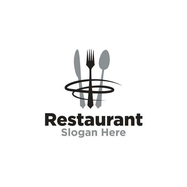 Restaurant logos creative design vector 08