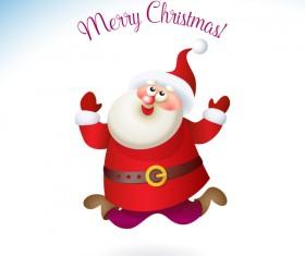 Santa claus cute vector material