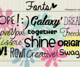 Special Hand Drawn Fonts