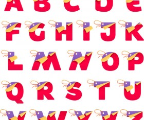Tag alphabet vectors set