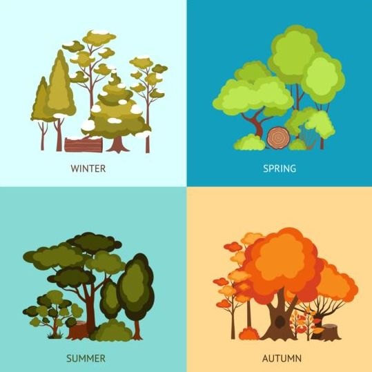 Image result for seasons cartoon