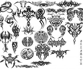 Tribal PS Brushes set
