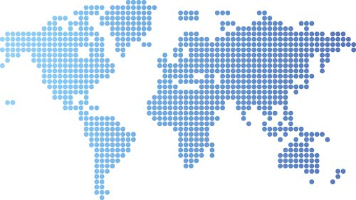 World maps with blue round dots vector vector maps free download world maps with blue round dots vector gumiabroncs Gallery