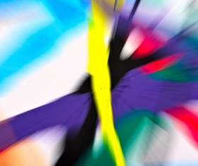 Yellow Purple Blue Abstract Background