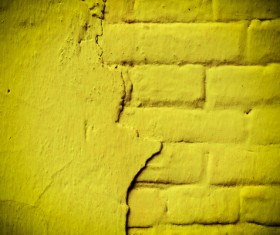 Yellow wall texture HD picture