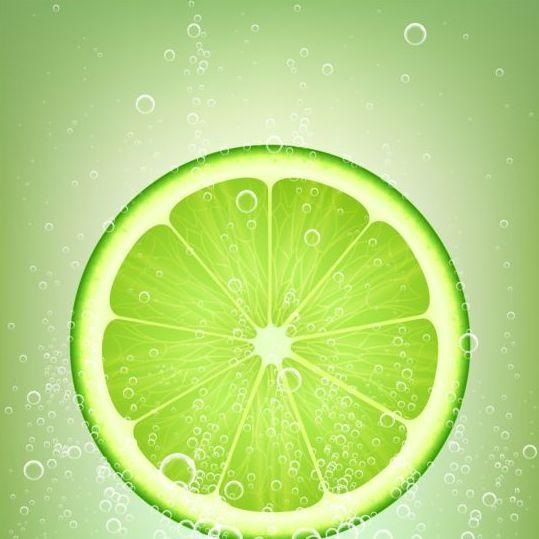 lemonade lime vector background