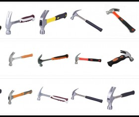 18 Kind Claw Hammer PS Brushes