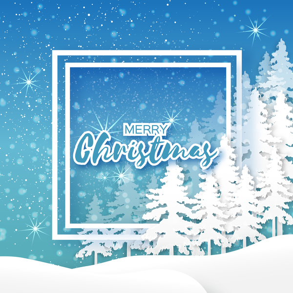 2017 christmas paper cut with greeting cards vector 07 free download 2017 christmas paper cut with greeting cards vector 07 m4hsunfo