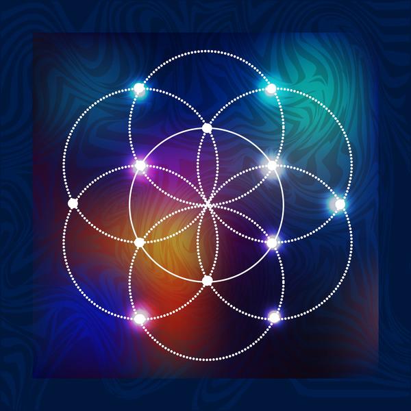 Astounding sacred geometry vector pics