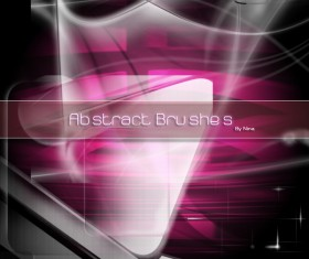 Abstract photoshop brushes
