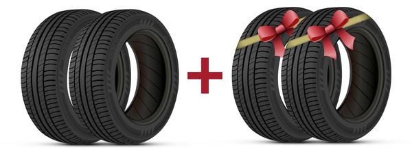Auto tires design vector set 04