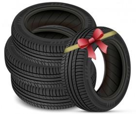 Auto tires design vector set 06