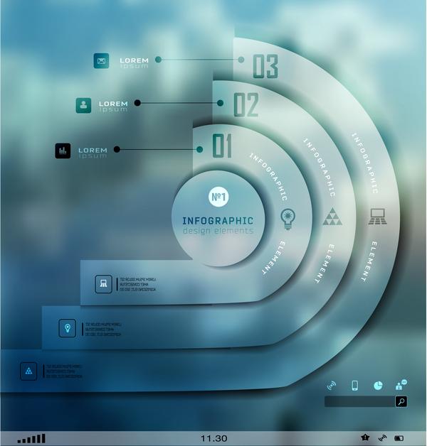 Business Infographic creative design 4580