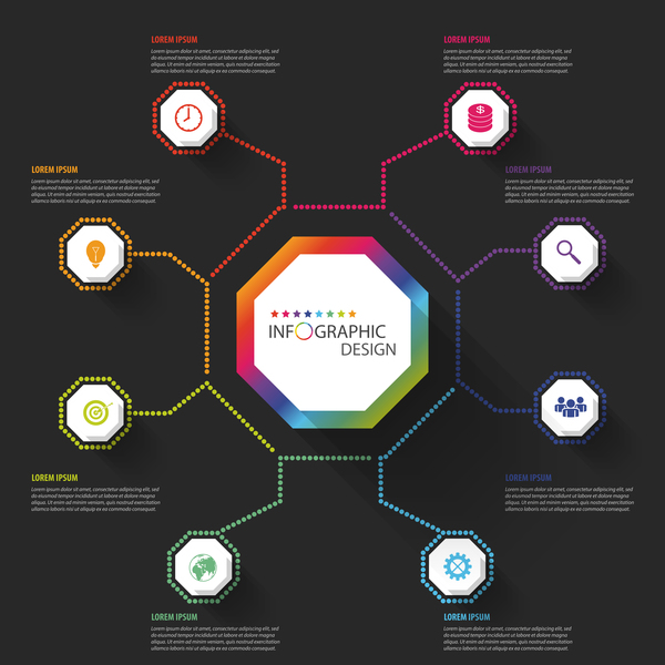 Business Infographic creative design 4583