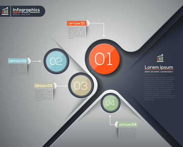Business Infographic creative design 4586