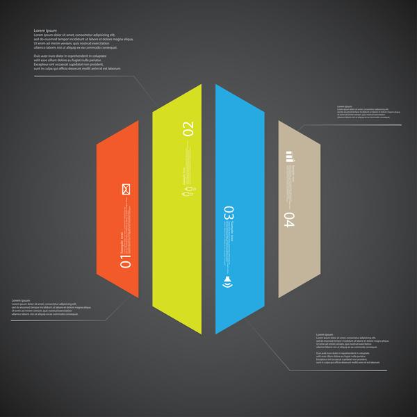 Business Infographic creative design 4589